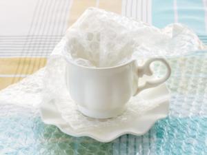 Folia bąbelkowa jako opakowanie towarów kruchych